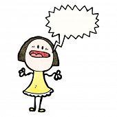 cartoon woman complaining
