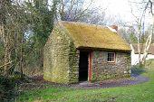 Irish Labourer's Thatched Cottage