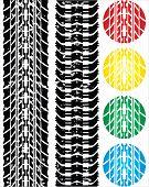 Print Various Automobile Tires
