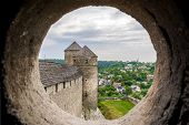 View From The Embrasure Of A Tower At Kamyanets-podilsky Fortress, Ukraine