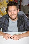 LOS ANGELES - AUG 23:  Scott Clifton at the Bold and Beautiful Fan Meet and Greet at the Farmers Mar