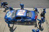 Miller Lite Pit Stop Nascar Sprint Cup Series Aarons 499 Apr 26
