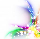 Abstract Rainbow Color Background Design