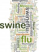 Swine Flu Wordcloud