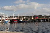 Boats Moored In The Calm Waters Of Killybegs