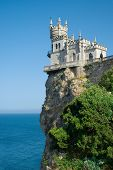 The Well-known Castle Swallow's Nest Near Yalta In Crimea, Ukraine poster