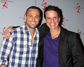 LOS ANGELES - AUG 24:  Marco Dapper, Christian LeBlanc at the Young & Restless Fan Club Dinner at th