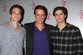 LOS ANGELES - AUG 24:  Greg Rikaart, Christian LeBlanc, Max Ehrich at the Young & Restless Fan Club Dinner at the Universal Sheraton Hotel on August 24, 2013 in Los Angeles, CA