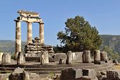 foto of oracle  - Photo of Rural Greek Delphi Temple - JPG