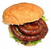 Cumberland Sausage Sandwich