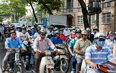 Motorbikes of Saigon