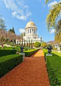 Bahai Gardens and temple
