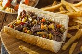 Hearty Italian Beef Sandwich