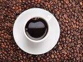 A cup of coffe to get energy and become vivacious
