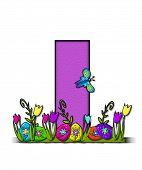 Alphabet Easter Egg Garden I