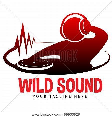 Wild Sound Logo poster