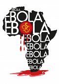 Killer Ebola Virus Spreads from Africa Map