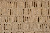Adobe Blocks From A Huaca, Miraflores, Peru