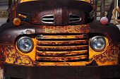Aging And Rusty Truck