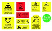 Antistatic Labels