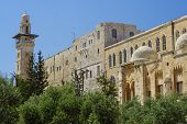 stock photo of aqsa  - Old mosque in the center of Jerusalem - JPG