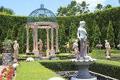 Cholburi Thailand - August11 : Beautiful Decoration  European Garden Style In Saun Nongnuch Park Imp