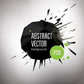 Vector Geometric Abstract Background For Bright Title.