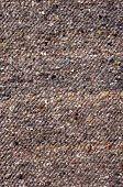 Dark Brown Rug Closeup