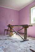 Repair Room After Painting