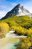 valley of river Verdon in autumn, Provence, France