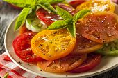 Healthy Heirloom Tomato Salad