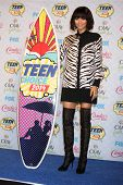 LOS ANGELES - AUG 10:  Zendaya Coleman at the 2014 Teen Choice Awards Press Room at Shrine Auditorium on August 10, 2014 in Los Angeles, CA