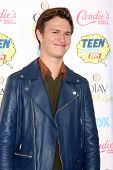LOS ANGELES - AUG 10:  Ansel Elgort at the 2014 Teen Choice Awards Press Room at Shrine Auditorium on August 10, 2014 in Los Angeles, CA