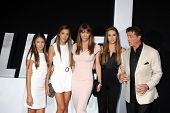 LOS ANGELES - AUG 11:  Sylvester Stallone, Jennifer Flavin, family at the