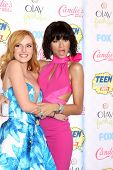 LOS ANGELES - AUG 10: Bella Thorne, Zendaya at the 2014 Teen Choice Awards at Shrine Auditorium on August 10, 2014 in Los Angeles, CA