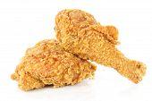 Fried Chicken Drumsticks And Hip