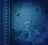 Grunge Jeans Texture