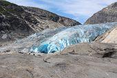 Nigardsbreen is a glacier in Norway.