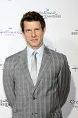 LOS ANGELES - JAN 8:  Eric Mabius at the Hallmark TCA Party at a Tournament House on January 8, 2014 in Pasadena, CA