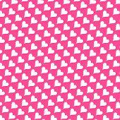 Seamless Texture - Hearts