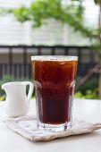 Ice Black Coffee , Americano.