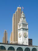 Ferry Building in San Francisco