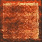 Grunge texture, distressed background. With different color patterns: brown; black; red (orange); yellow (beige)