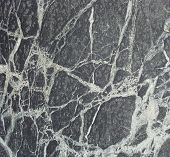 pic of porphyry  - black white wavy vein marble sheet slab - JPG