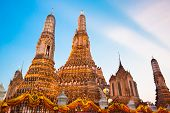 pic of south east asia  - Wat Arun Temple in Bangkok - JPG