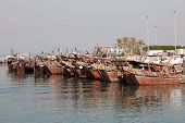 Traditional Dhows In Kuwait