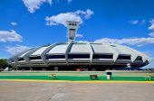 The Montreal Olympic Stadium