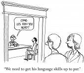 Poor Second Language Skills