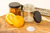 Marmalade, Ingredients and some equipment