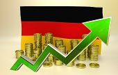 currency appreciation - Germany economy